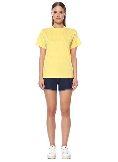 NetWork Tişört Sarı